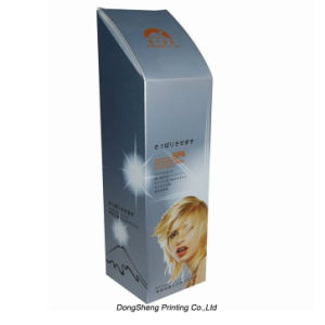 Silver Card Paper Packaging Box for Shampoo