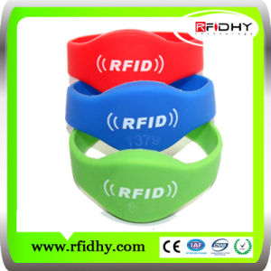 Best Selling Multi Color Logo Printing RFID Wristbands pictures & photos