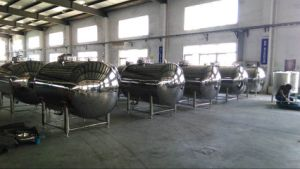Stainless Steel Horizontal Tank 200L-5000L pictures & photos
