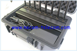 8antenna 3G 4G Smart Cell Phone Jammer, GSM CDMA 3G 4G UHF VHF Radio GPS GSM Signal WiFi Jammer pictures & photos