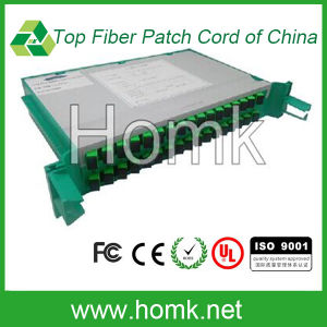 Tray Type Fiber PLC Splitter 1*32 pictures & photos