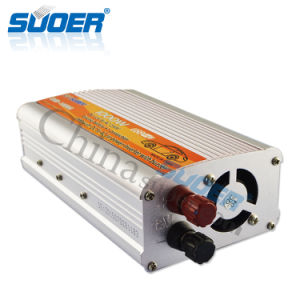 Suoer Manufacture DC to AC Power Inverter 12V 220V 1000W Inverter (USB-1000A) pictures & photos