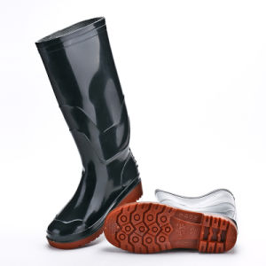 Fashion Safety Work PVC Men Rain Boots pictures & photos