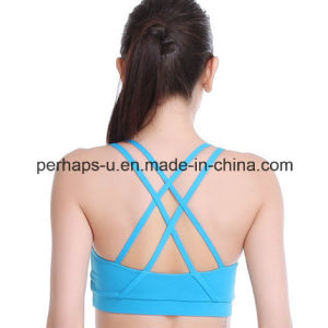 Wholesale High Quality Women Camisole Yoga Fitness Bra pictures & photos