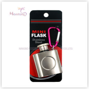 1 Ounce Liquor/Whisky Flask, Stainless Steel Mini Hip Flask pictures & photos