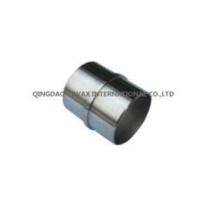 Stainless Steel 90 Degree Round Tube Connector Handrail Fitting pictures & photos