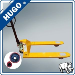 on Sale Hand Forklift Manual Pallet Truck Customised Wheel pictures & photos
