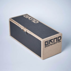 High Quality Brown Color Shoes Box with Custom Printing pictures & photos