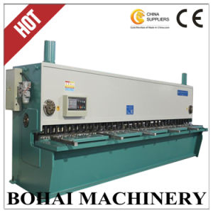 CNC Guillotine Shear QC11y-6/6000, Hydraulic Metal Guillotine Shearing Machine for Steel Plate pictures & photos