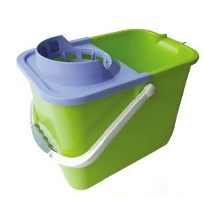 Plastic Mop Bucket with Plastic Handle