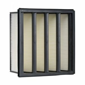 Rigid Absolute Mini Pleat V Bank Filter pictures & photos
