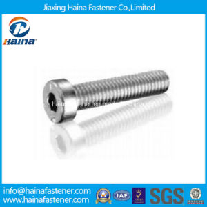 Stock DIN7984 Stainless Steel Hex Thin Cap Screw Machine Screw pictures & photos