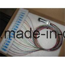 2X32 PLC Singlemode Fiber Optic Splitter with Sc Connector pictures & photos