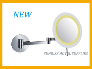 New Arrival Wall Mounted Magnifying Mirror with LED Light pictures & photos