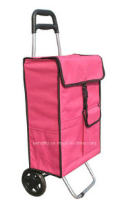 Lightweight Wheeled Supermarket Shopping Trolley Bag Large 47L pictures & photos