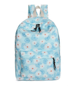 New Fashion Canvas School Bag Travel Backpack for Women pictures & photos
