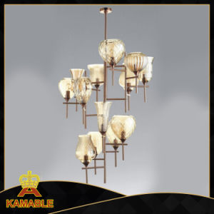 Home Decorative Crystal Glass Pendant Lamp (KAP6091) pictures & photos