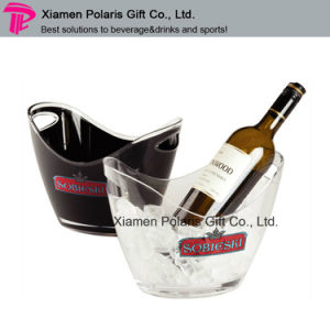 12L Double Wall Plastic PS Ice Bucket for Wine Chiller pictures & photos