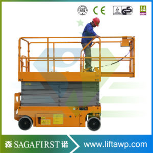 12.0m Electric Self Propelled Scissor Lift pictures & photos