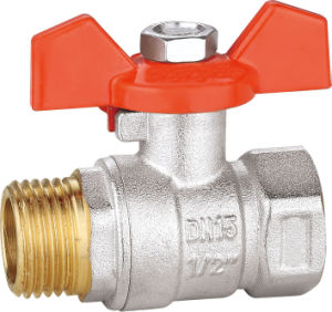 Brass Ball Valve with Aluminum Handle BV-1390 M/F pictures & photos