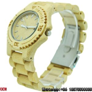 Top-Quality Maple-Wooden Watches Date  Quartz Watches pictures & photos