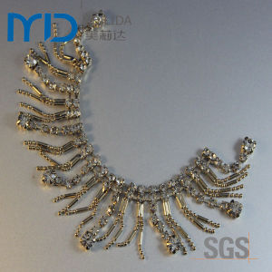 Shoe Chains Lady Flat Sandal Buckle and Rhinestone Accessory Decoration pictures & photos