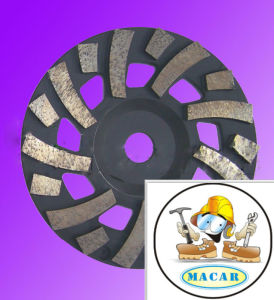 Diamond Cup Wheel for Renovate Floor of Concrete and Cement