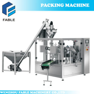 Coffee Rotary Elevator Filling Sealing Packaging Machine (FA8-300-P) pictures & photos