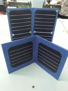 2016 New Item Best Sale 6V 12W 1mm Thickness Solar Mobile Charger Bag in Lowest Cost
