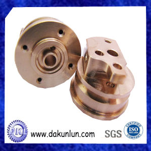 Copper Parts Made by CNC Machining Centers