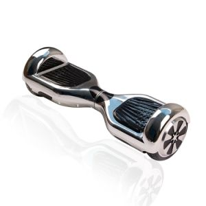 36V 700W 20 Km Per Charge Portable Hoverboard Chrome Self Balancing Electric Scooter