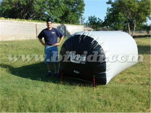 Inflatable Car Wash Bunker, Three Log Inflatable Paintball Bunker K8109 pictures & photos
