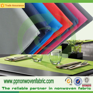 PP Spunbond Nonwoven Table Cloth Fabric pictures & photos