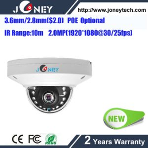 Fixed Lens 3.6mm/2.8mm Dahua Housing Mini 2MP IP Camera with Poe pictures & photos