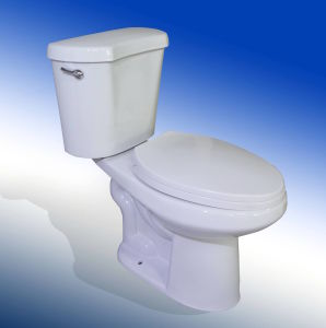 High Quality Tall Bowl Ceramic Two Piece Toilet