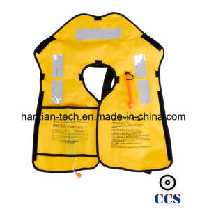 CCS/Ec 150n Safety Jacket Inflatable Approval by Solas (HTZH009) pictures & photos