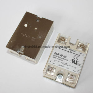 SSR-40va Phase Control Adjustable Solid State Relay pictures & photos