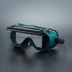 Flip-up Front Type Welding Goggles for Welding Machine (WG114) pictures & photos