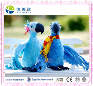 Plush Toy Blu and Jewel Parrot Bird Canary Plush Toys for Kids Gift Toys Standing High 28 Cm pictures & photos