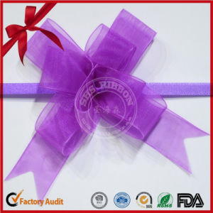 Lovely Purple PP Butterfly Pull Bow for Gift Wrap pictures & photos