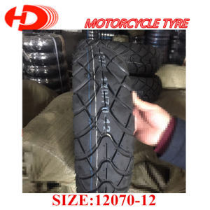 Factory Supplier Motorcycle Tyre/Tire with DOT ECE Inmetro 120/70-12 130/70-12 pictures & photos