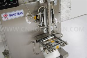 Hongzhan HP50L Automatic Liquid or Paste Packing Machine for Sauce pictures & photos