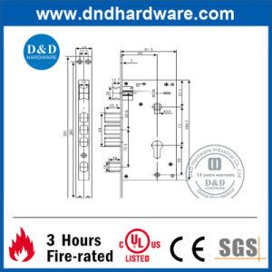 Stainless Steel Hardware Key Door Lock for Outer Door (DDML026) pictures & photos