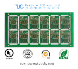 HASL PCB for Schindler Elevator with Green Solder Mask pictures & photos