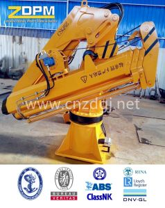 The Large Capacity Hydraulic Deck Crane pictures & photos