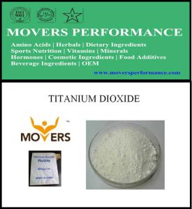 Hot Slaes Cosmetic Ingredient: Titanium Dioxide (non-nano) pictures & photos