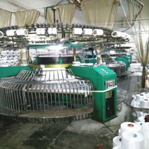 34inch Used Yongli Single Jersey Open Width Knitting Machine pictures & photos