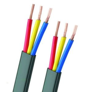 Three Core and Twin Flat Electrical Wire and Cables to BS6004 pictures & photos
