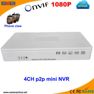 4 Channel P2p Digital NVR Recorder pictures & photos