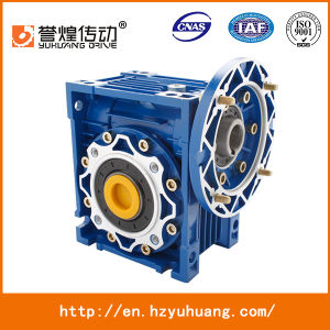 Nmrv63 Series Aluminium Worm Reduction Gearbox Speed Gear Box pictures & photos